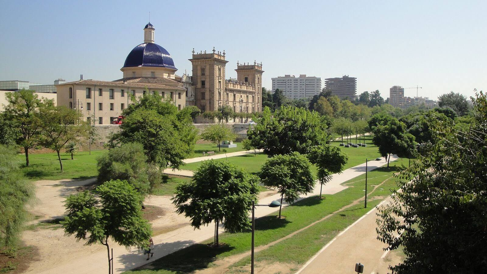 Gradinile Turia - Valencia