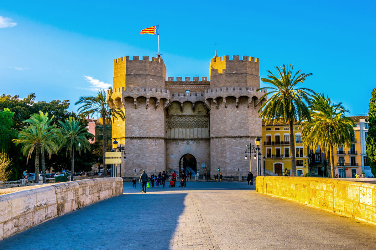 Turnurile Serranos - Valencia